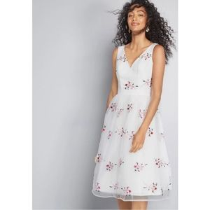 Chi Chi London Fit and Flare Dress
